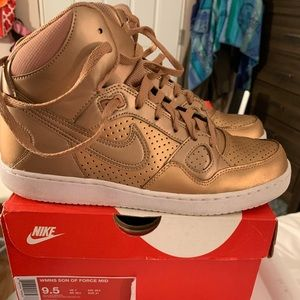 Nike Shoes - New condition. Women's Air Force 1's